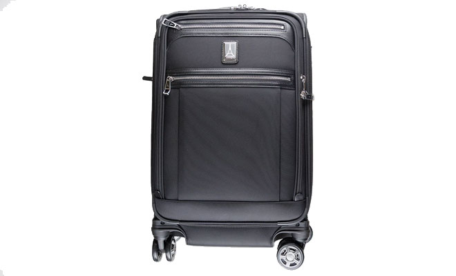 The Travelpro Platinum Elite 21 Expandable Spinner