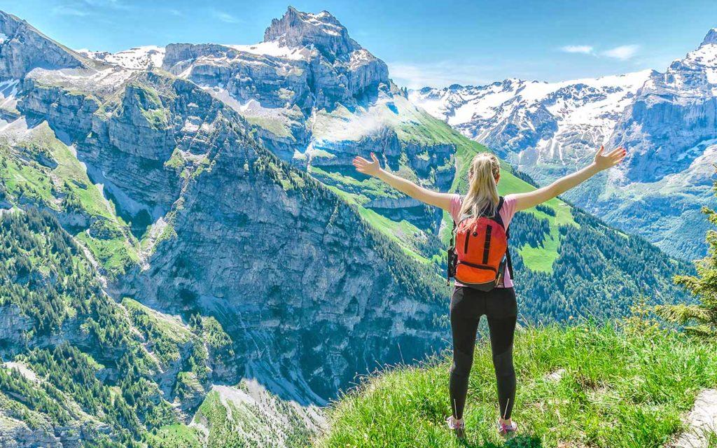 solo female traveler switzerland