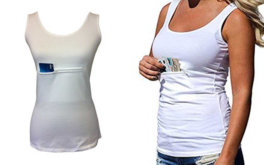 Clever Travel Unisex Tank Top
