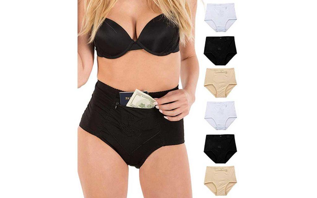 Barbra's Women's Travel Pocket Underwear
