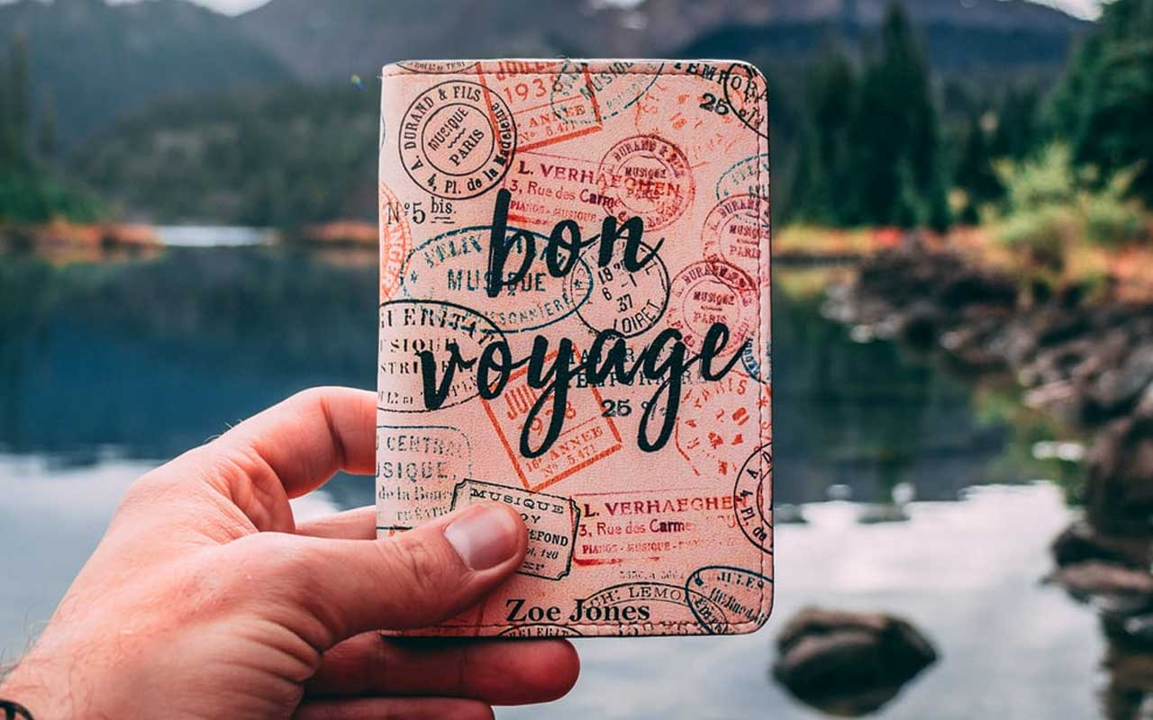 passport wallet and holder