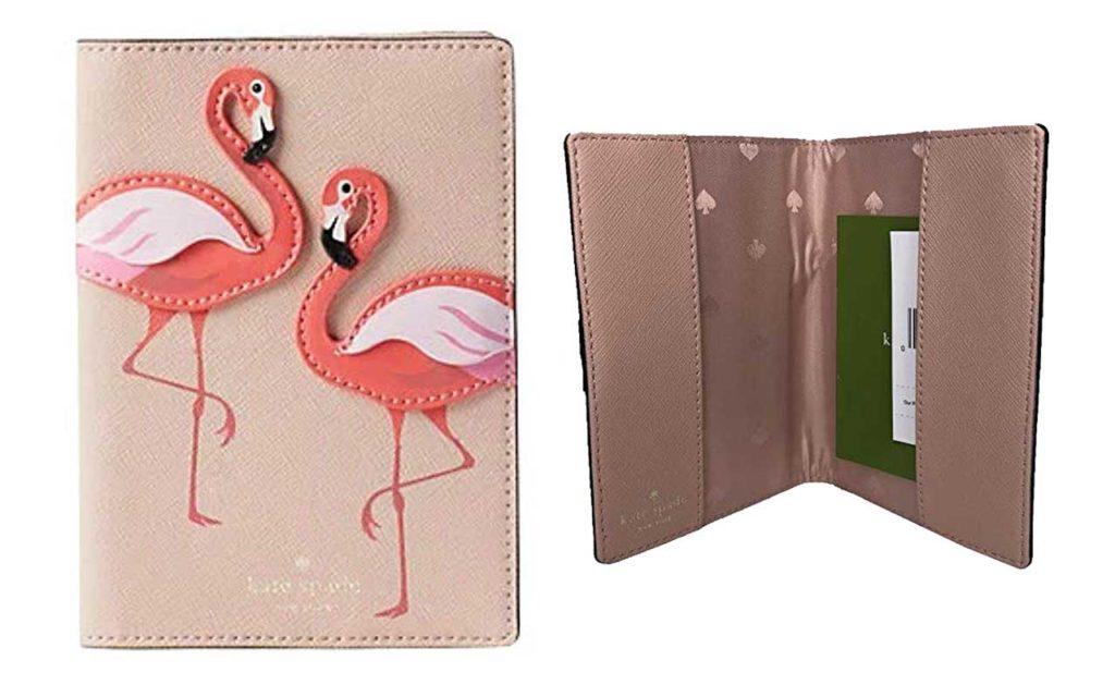Kate Spade Flamingo Passport Holder