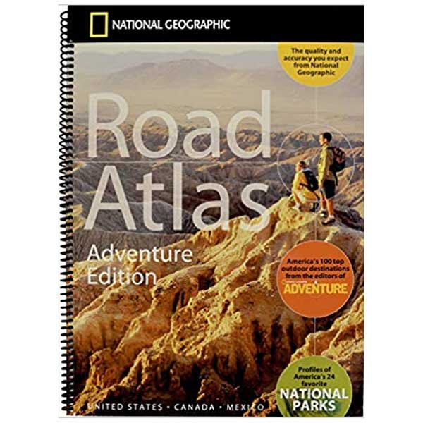 Adventure Edition of the National Geographic Road Atlas