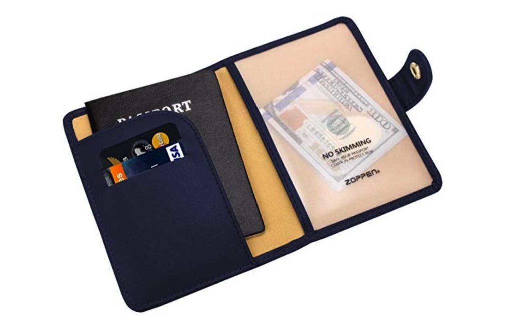 Zoppen RFID Blocking Travel Passport Holder