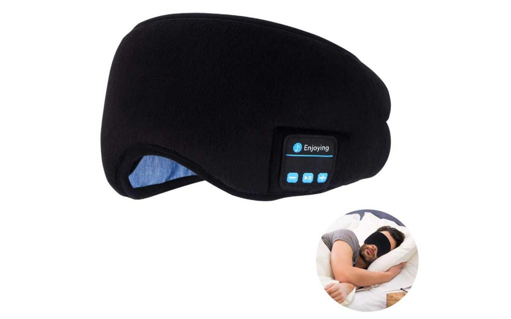 Topoint Sleep Eye Mask with Built-in Bluetooth Headset