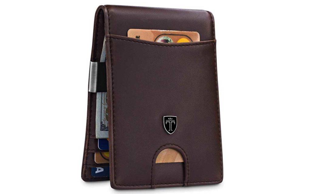 Travando Money Clip Wallet with RFID Block