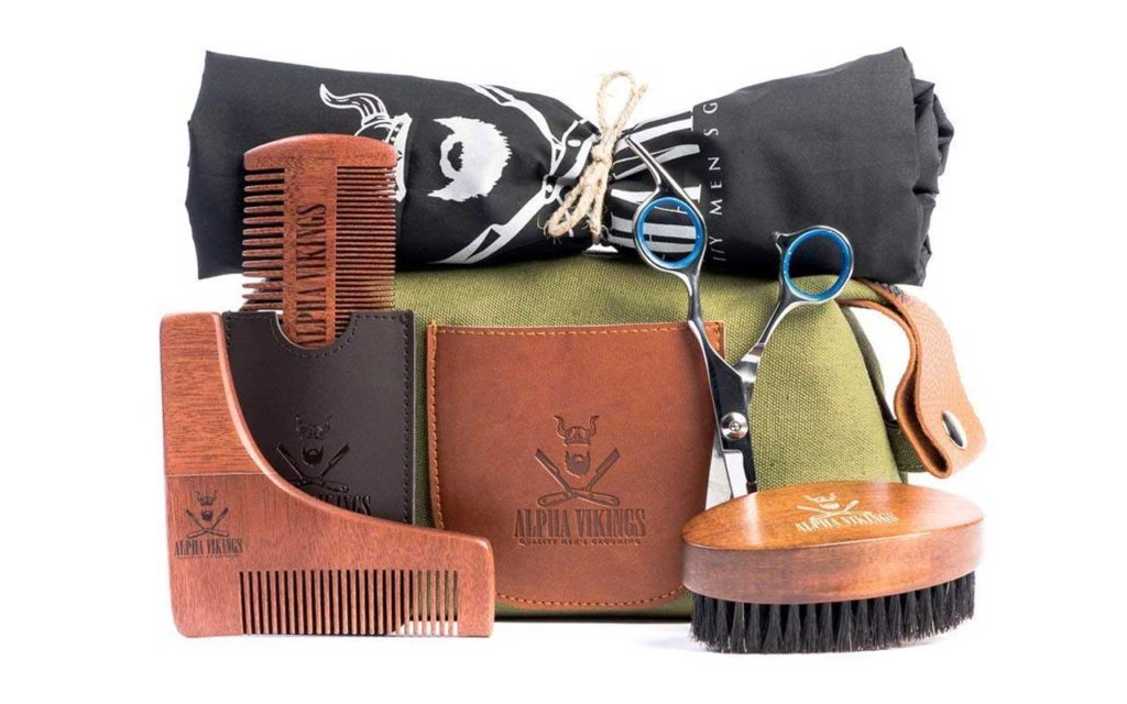 Alpha Vikings Beard Care Grooming Kit