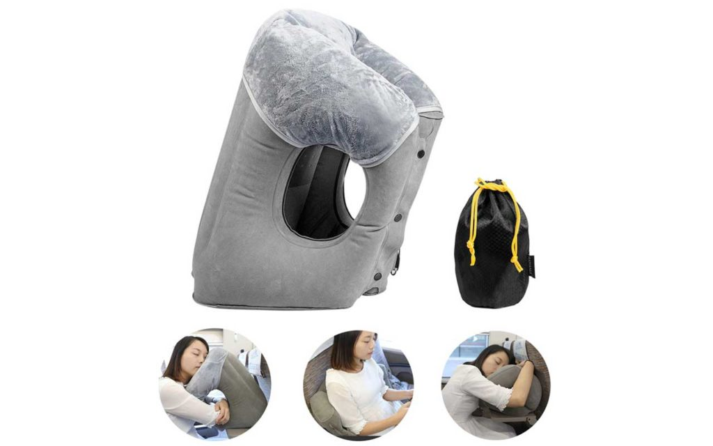 FengNiao Inflatable Travel Pillow
