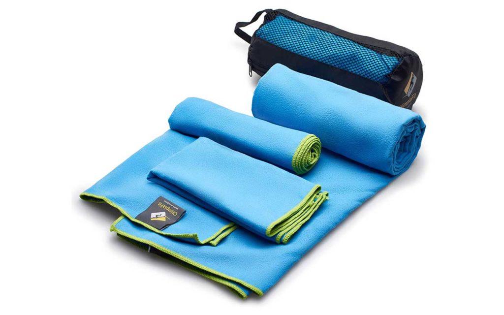 OlimpiaFit Fast Quick Dry Ultra Compact Towel Set
