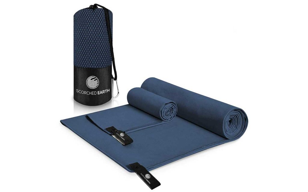 ScorchedEarth Microfiber Travel and Sports Towel