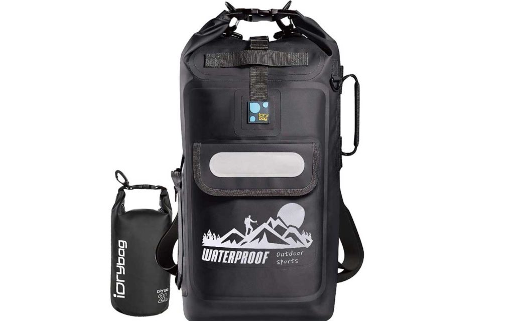 IDryBag Waterproof 20L Floating Dry Bag Backpack