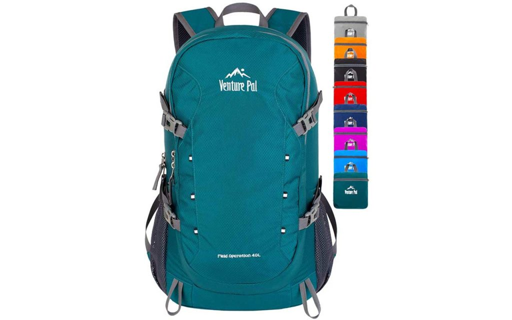 Venture Pal 40L Lightweight Water Resistant Hiking Backpack
