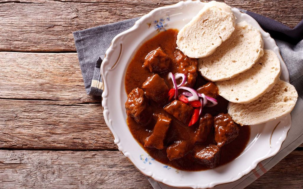 Goulash - Czech food