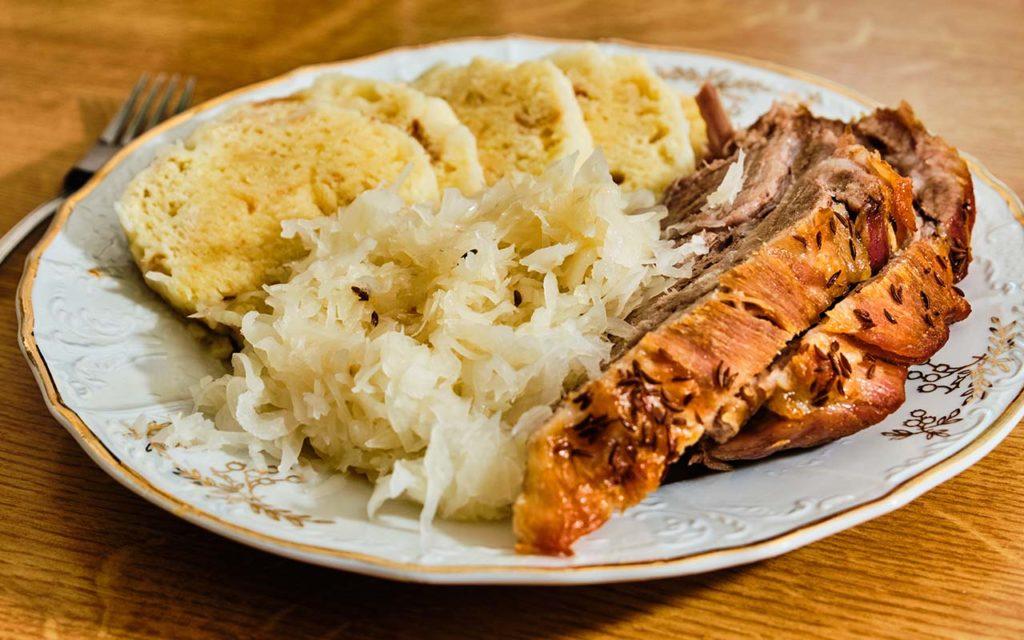 Vepřo Knedlo Zelo - Czech food