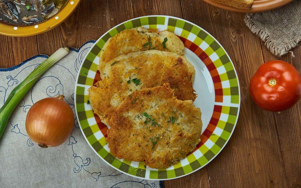 Bramboráky - Czech food