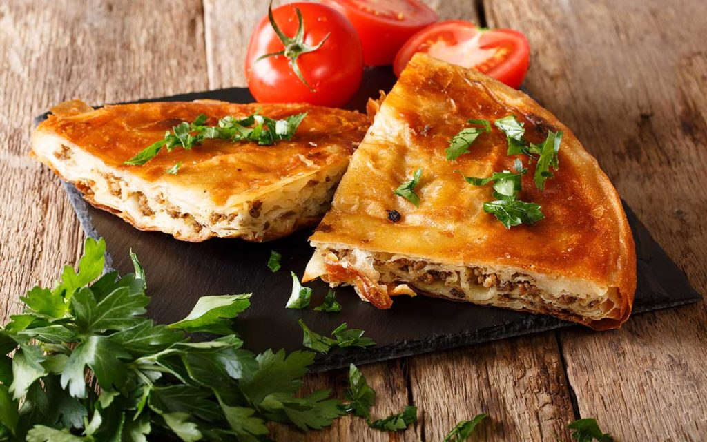 Burek - Bosnian Food