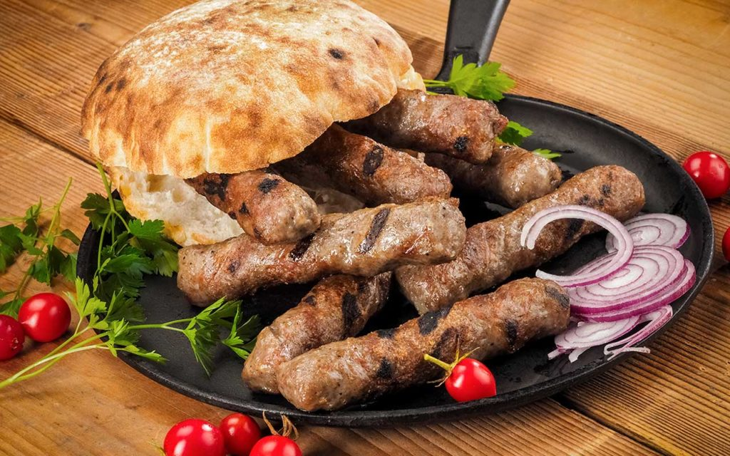 Cevapi - Croatian Food