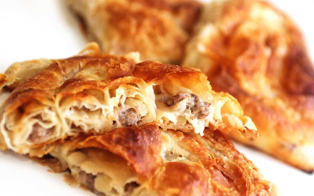 Burek - Croatian Food