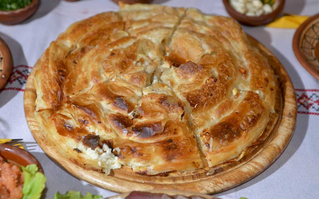 Zelnik macedonian food