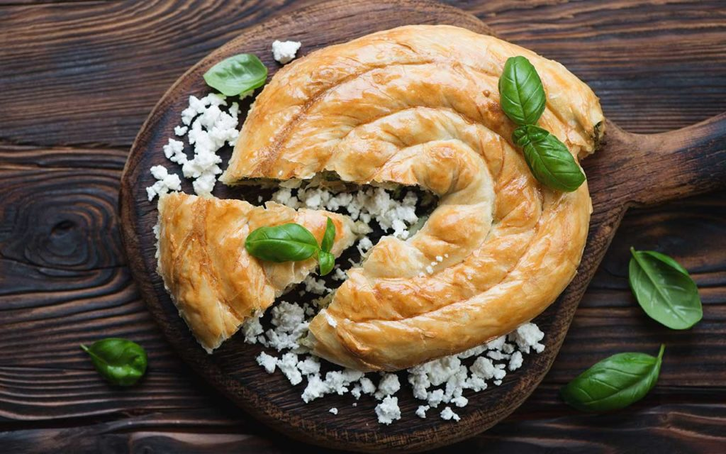 Burek macedonian food