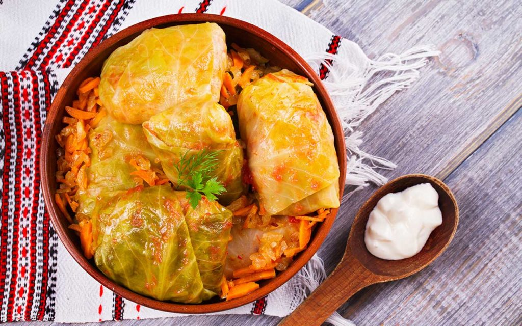 Moldovan Food - Sarmale | Stuffed Cabbage Rolls