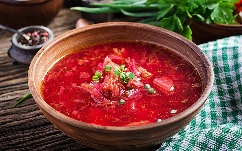 Moldovan Food - Bors | Borscht
