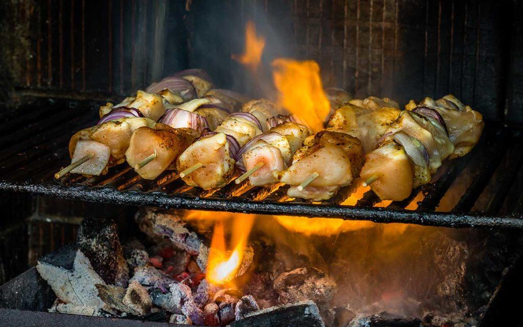Moldovan Food - Kebabs