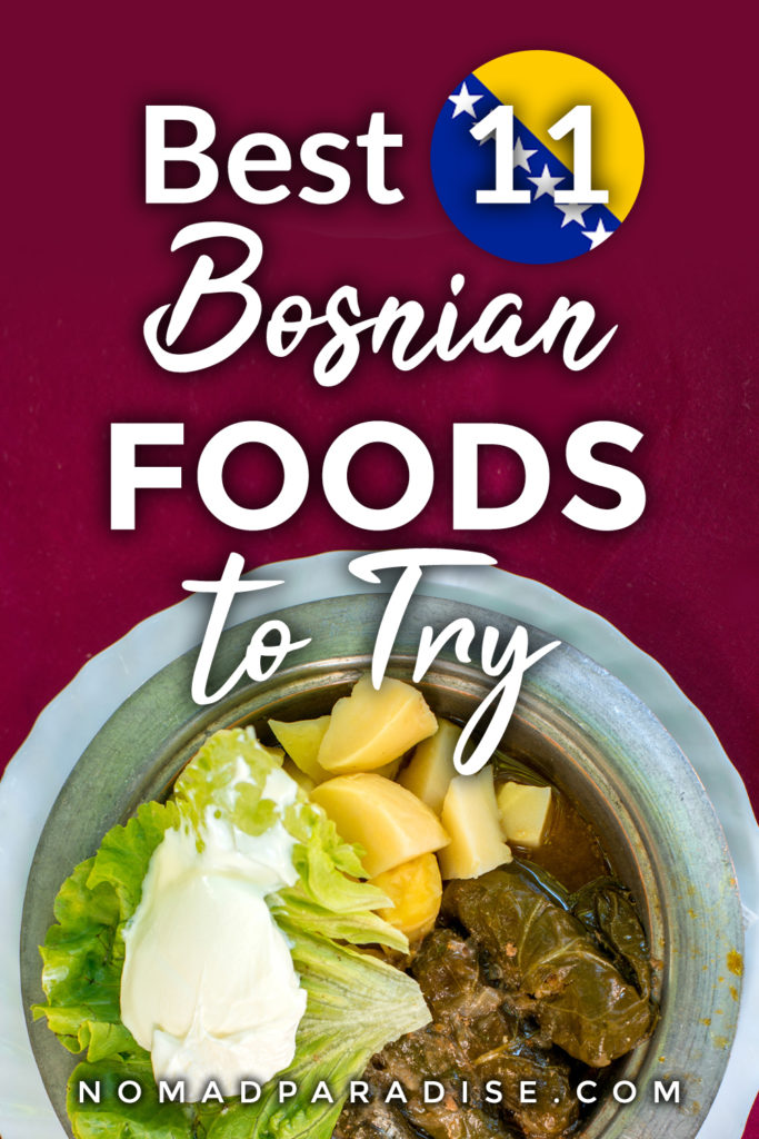 Best 11 Bosnian Foods