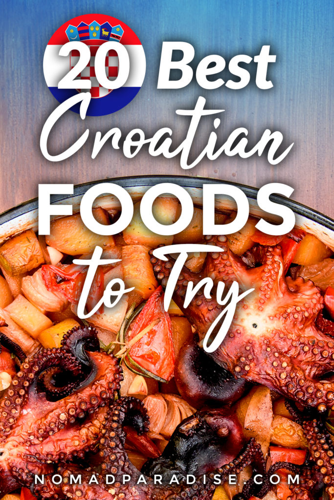 best croatian food