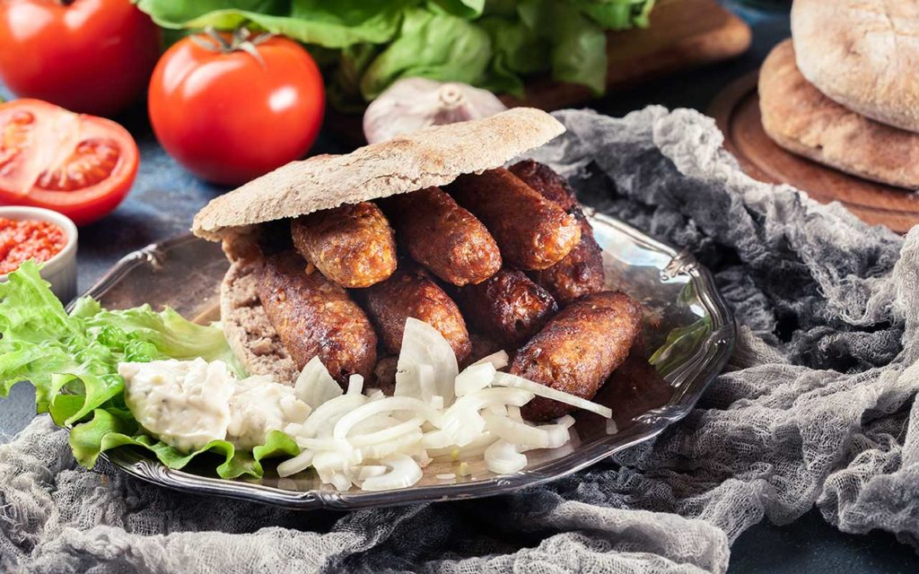 Barbecue meats - Serbian Food