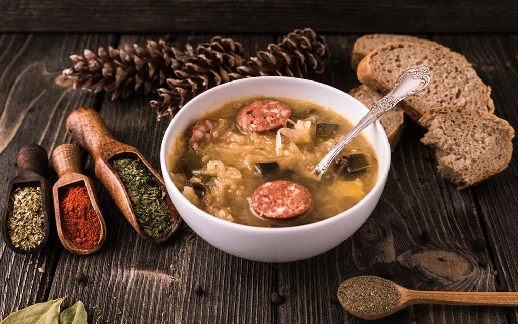 Kapustnica - Slovakian food