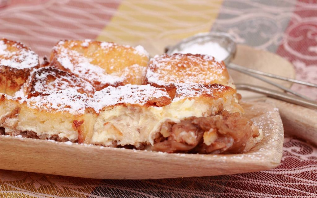 Zemlovka - Slovakian food