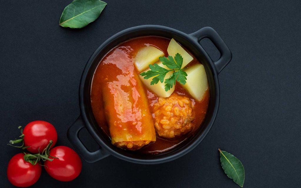 Plnena Paprika - Slovakian food