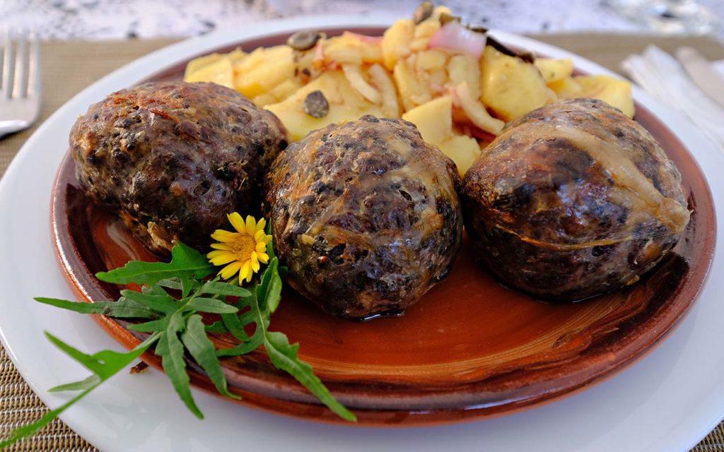 Mezerli - Slovenian food