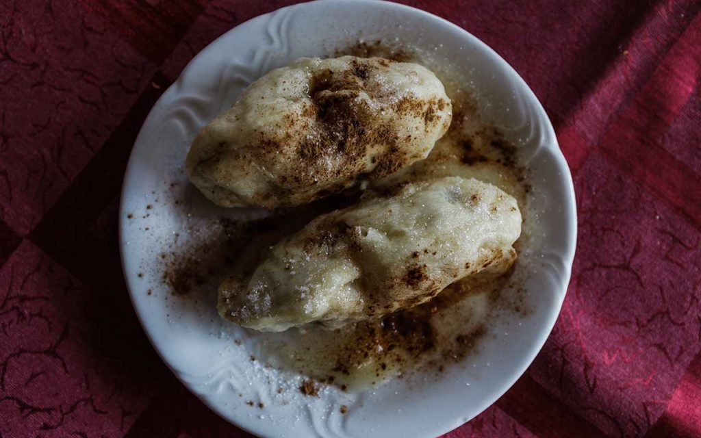 Kobariski struklji - Slovenian food