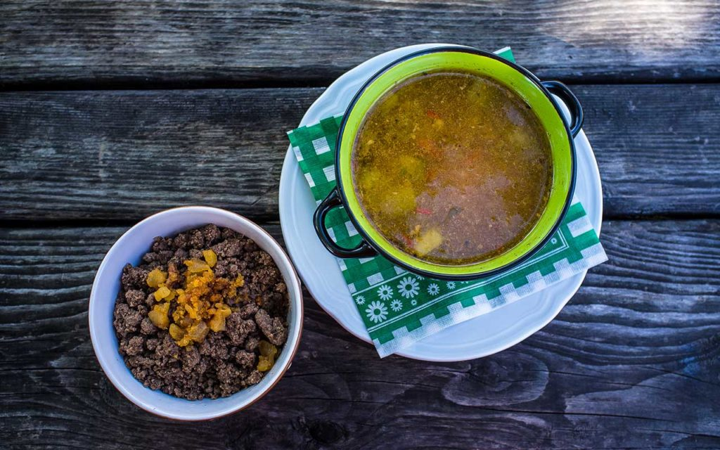 Obara - Slovenian food