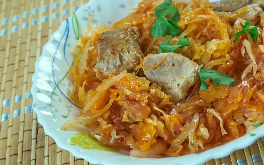 Bujta Repa - Slovenian food