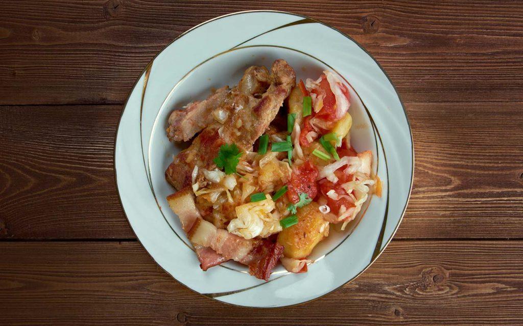 Jota - Slovenian food
