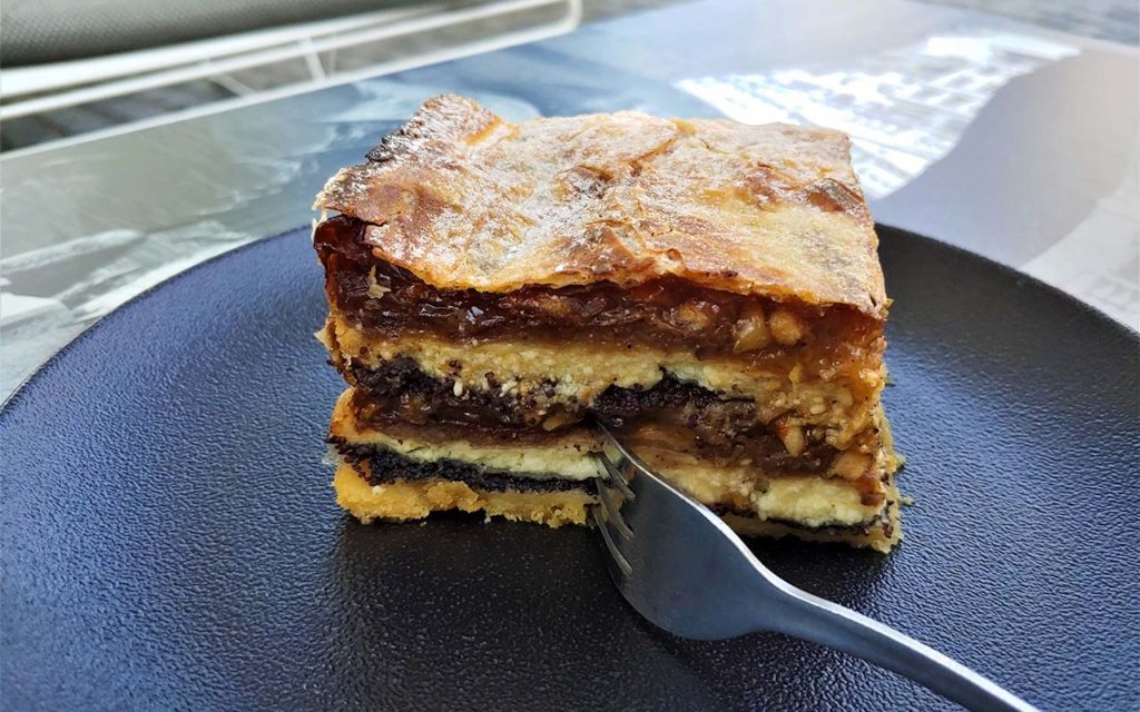 Prekmurska Gibanica - Slovenian food