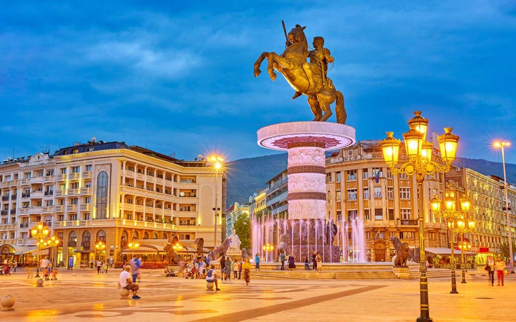 alexander the great statue - things to do in skopje