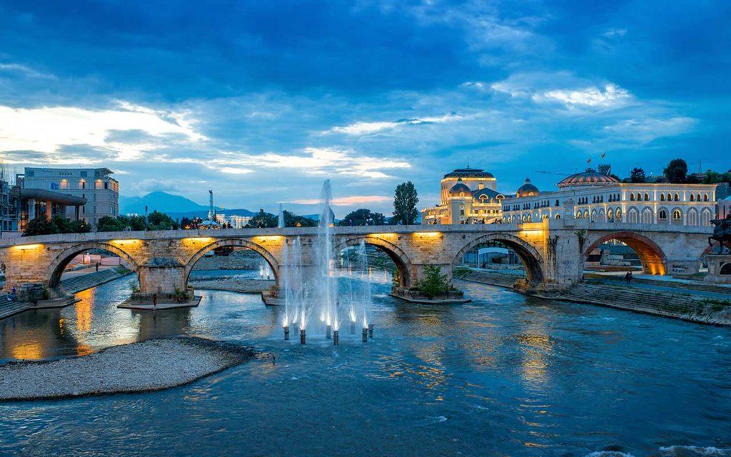 Walk Across the Stone Bridge - things to do in Skopje