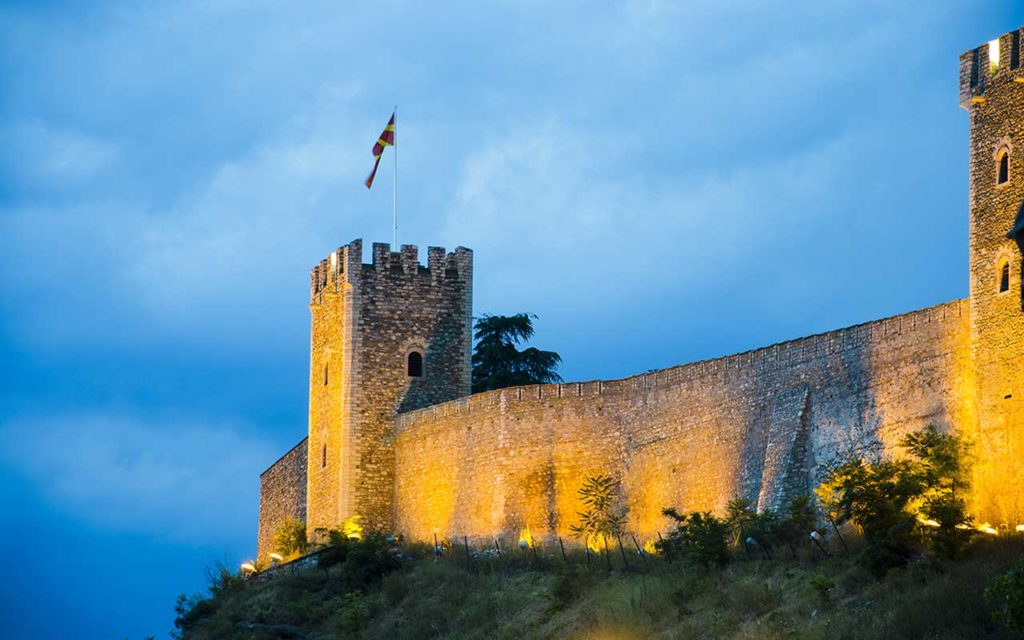 Visit the Kale Fortress - things to do in Skopje