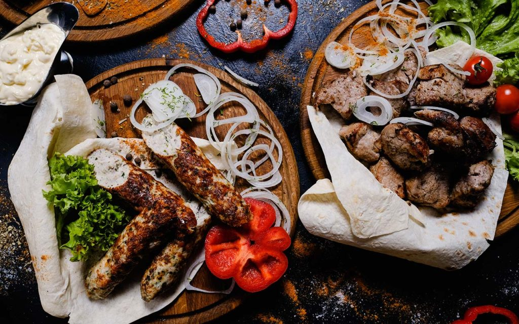 Armenian Food - Kebab
