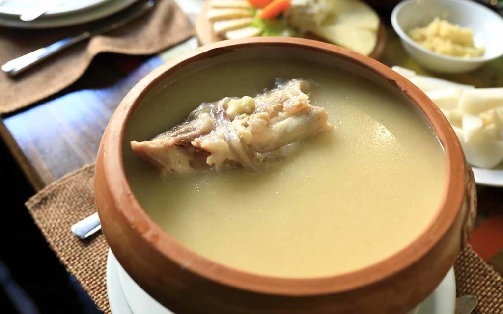 Armenian Food - Khash
