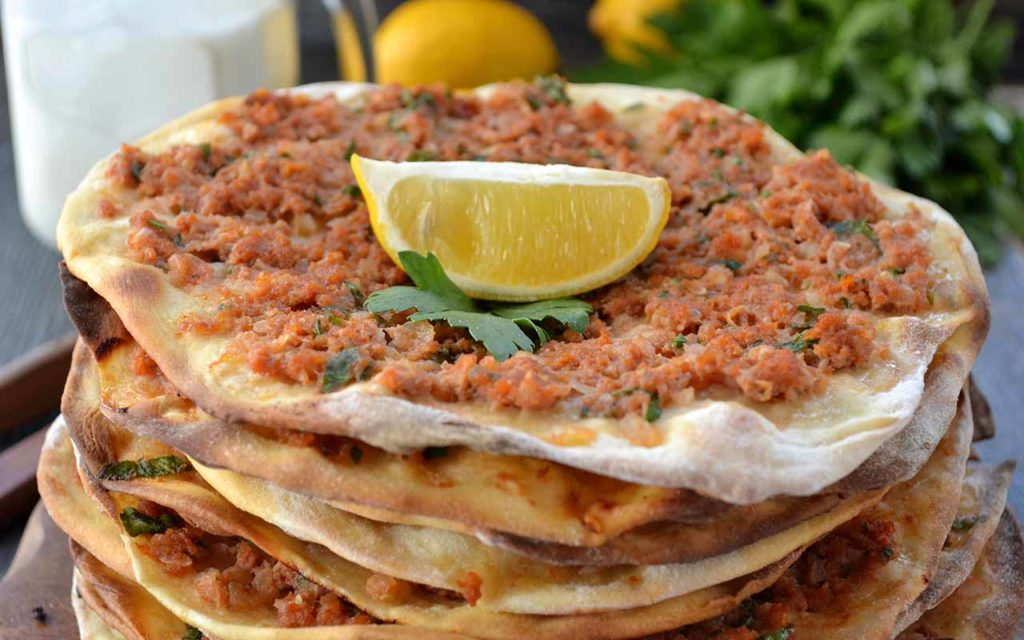 Armenian Food - meat pie