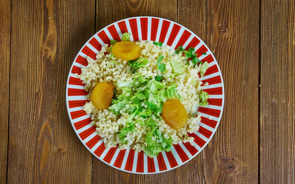 Armenian Food - Bulgur Salad