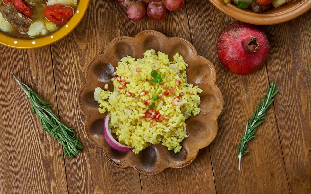Armenian Food - Rice Pilaf