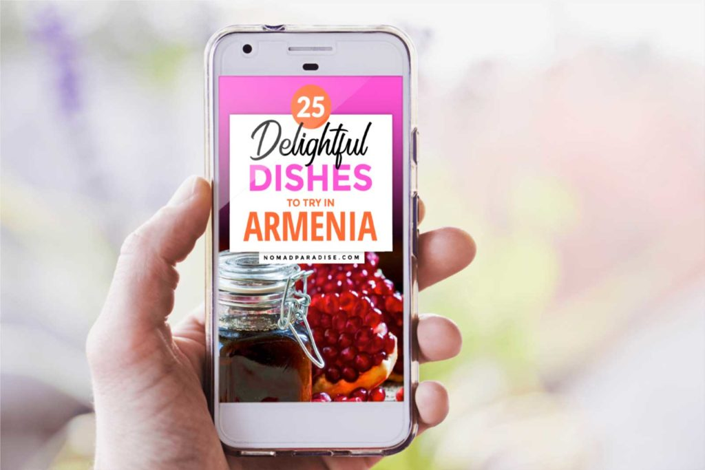 Get PDF of the Top Armenian Foods Article