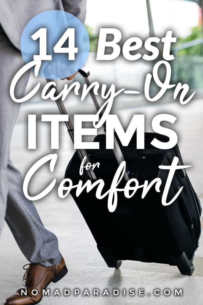 Best Carry On Essentials for Long Flights