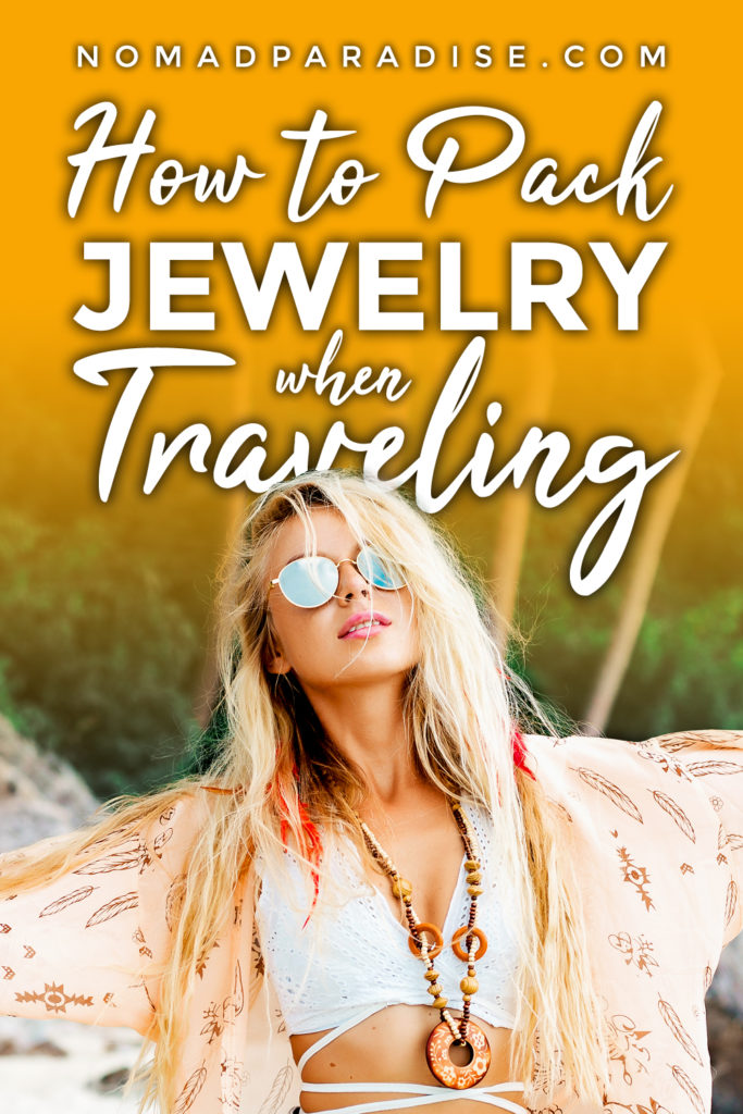 how to pack necklaces when traveling